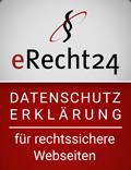 eRecht Siegel Datenschutz